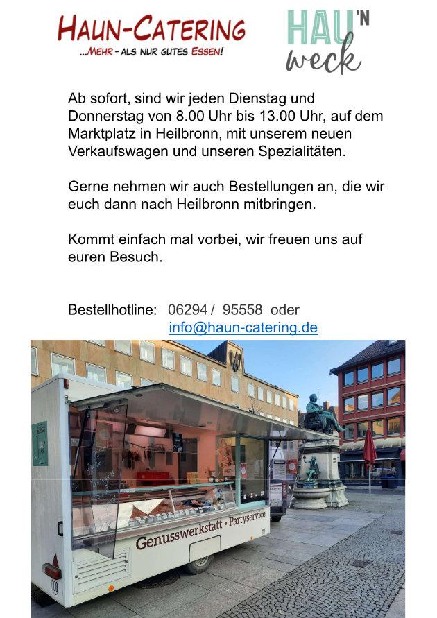 Haun Catering in Heilbronn