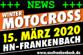 Winter-Motocross am 15. März